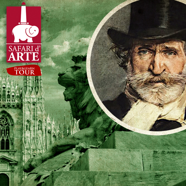 Verdi's Milan GUIDED Tour Play&Learn