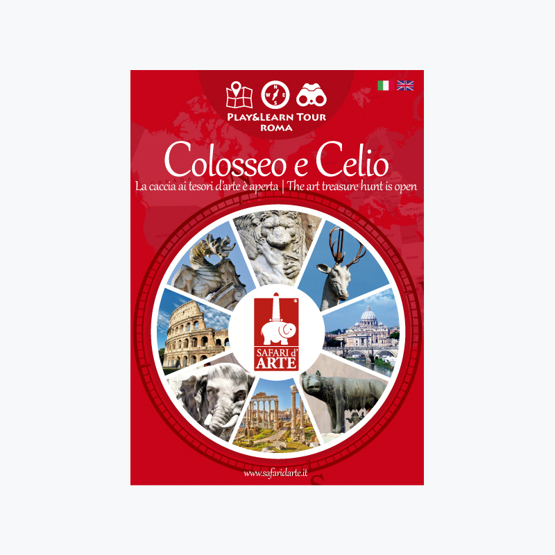 Rome Colosseum and the Caelian Hill Travel Guide Book