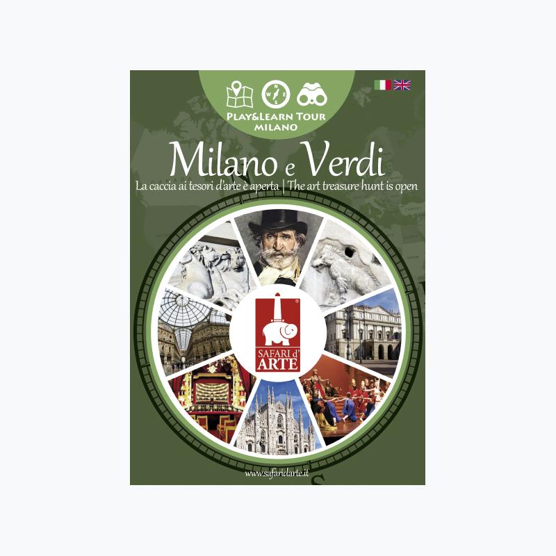 Verdi's Milan Travel Guide Book