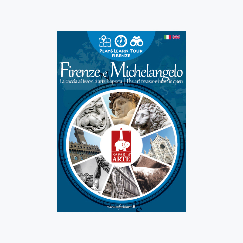 Firenze e Michelangelo Travel Guide Book Play&Learn