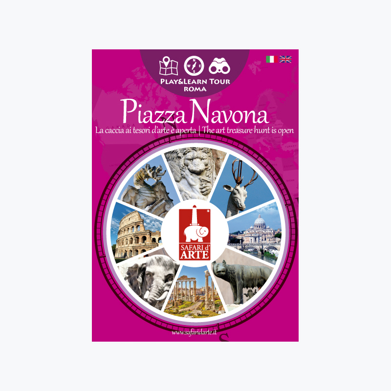 Roma Piazza Navona Travel Guide Book