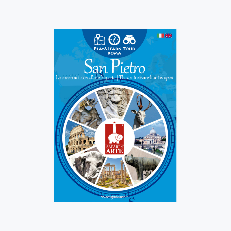 Roma San Pietro Travel Guide Book