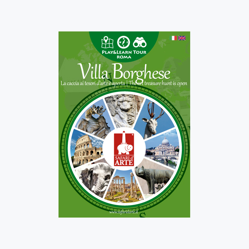 Roma Villa Borghese Travel Guide Book