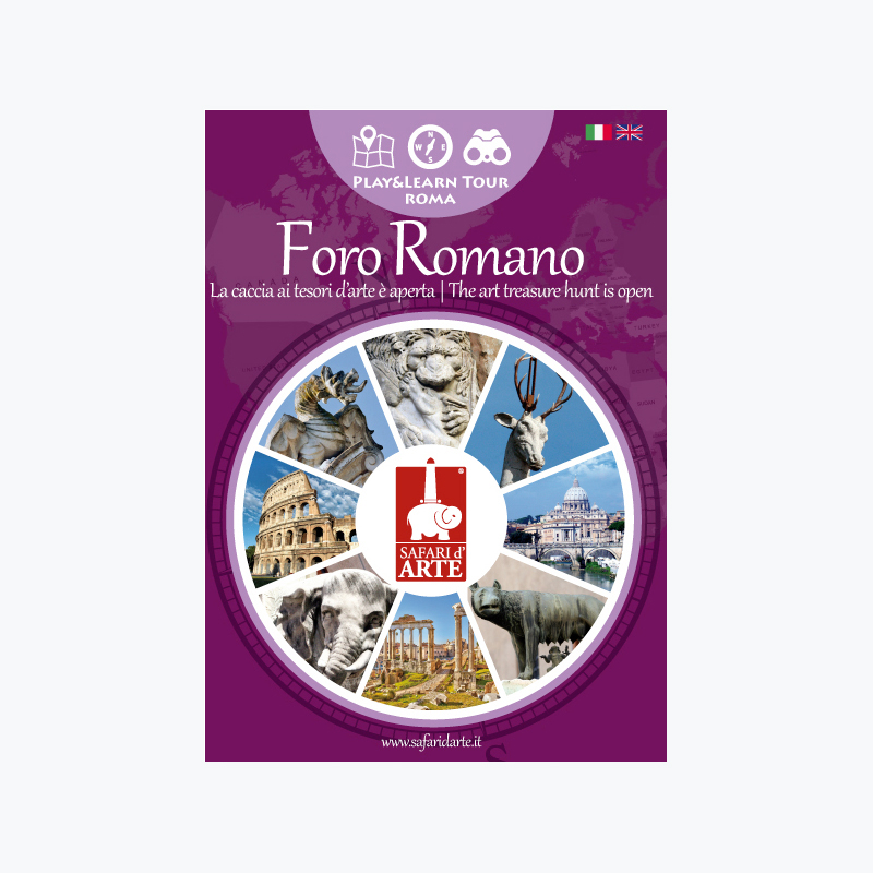 Roma Foro Romano Travel Guide Book