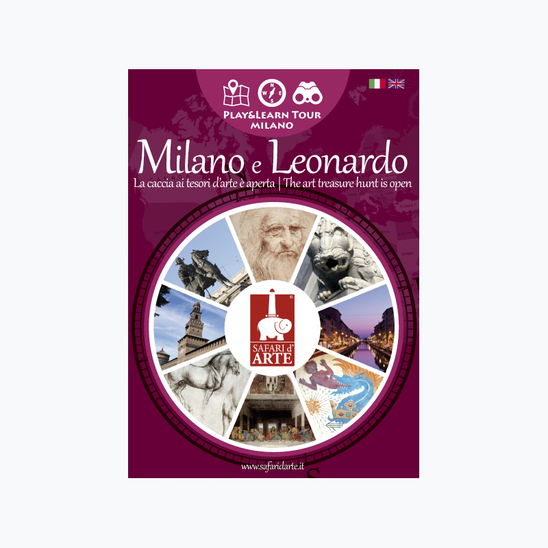 Milano e Leonardo Travel Guide Book