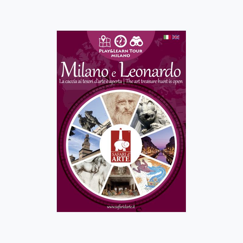 Milano e Leonardo Travel Guide Book