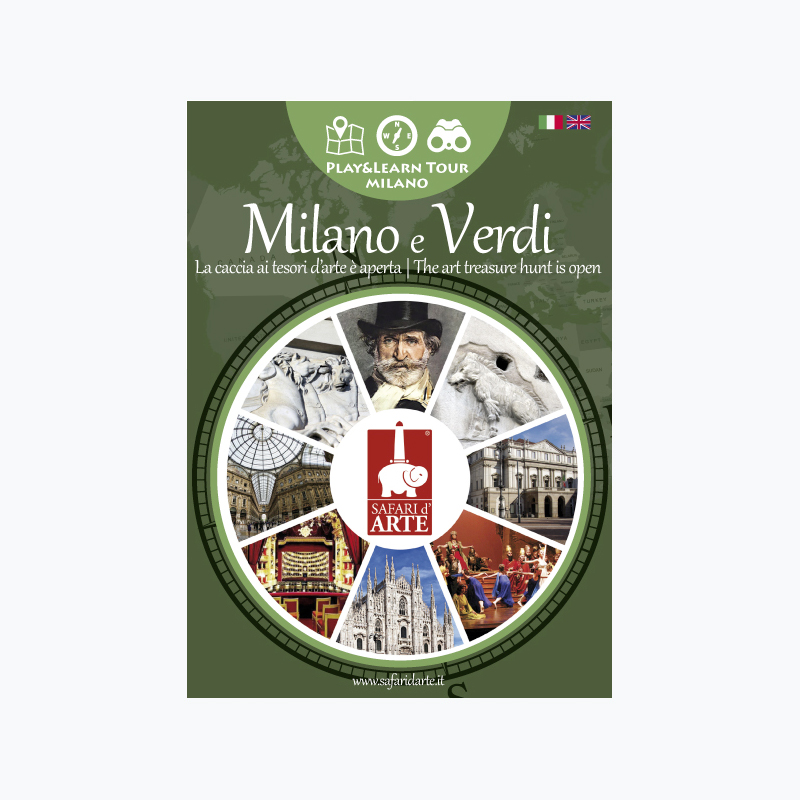 Milano e Verdi Travel Guide Book
